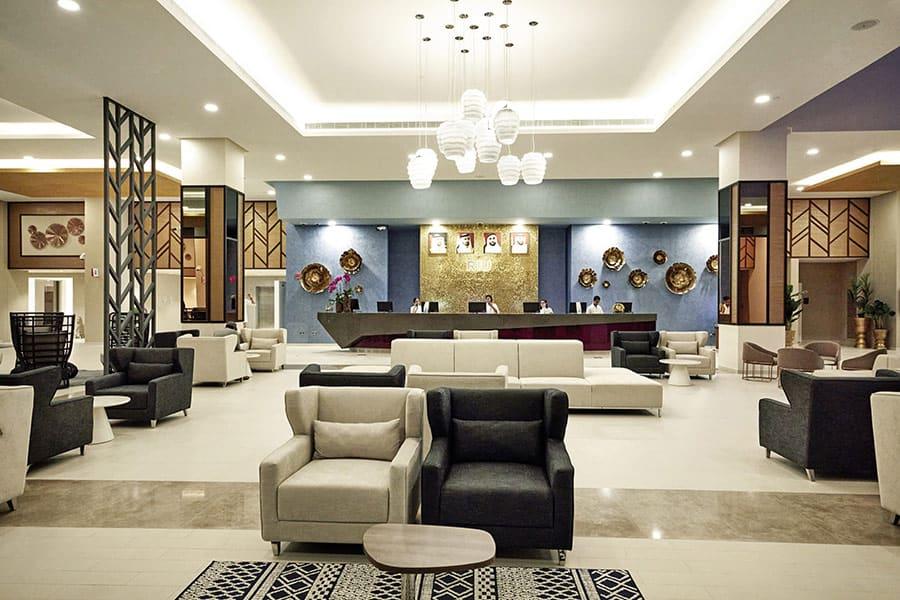 recepcion riu dubai tcm55 246383 Собственикът на RIU Hotels: Половината от хотелите ни са вече отворени, проектите вървят по план