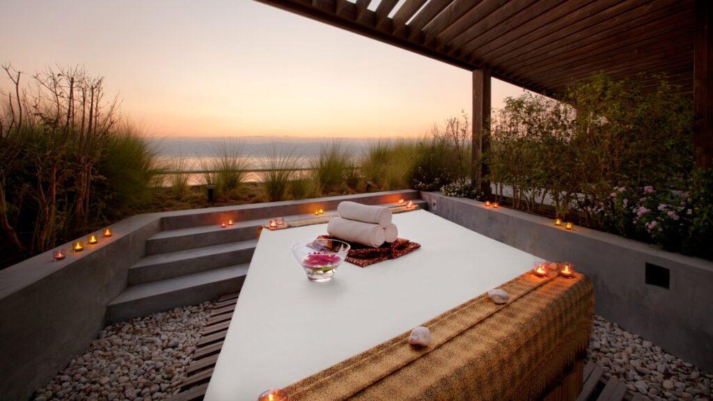 spa outdoor treatment room Хотелите Kempinski разширяват своята стратегия за уелнес туризъм в отговор на голямото търсене