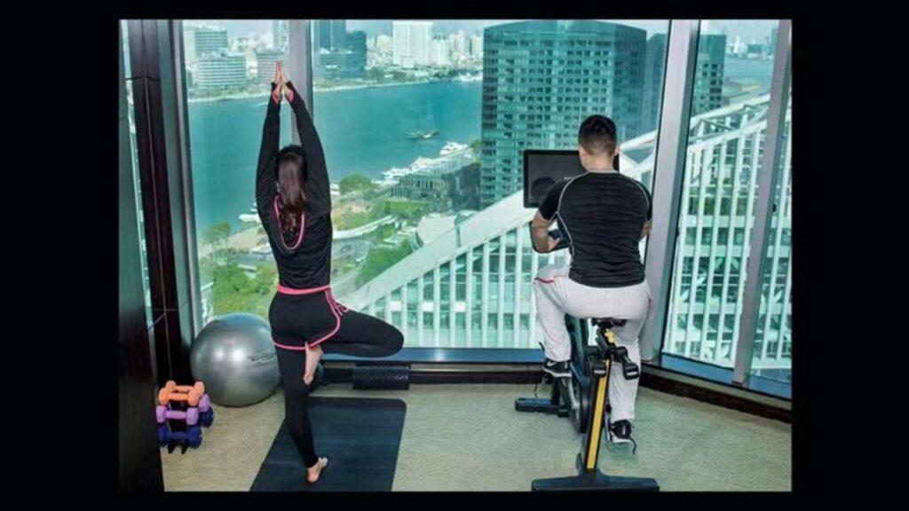 fit room Нова категория стаи в хотели Kempinski предлага комбинация от фитнес и почивка