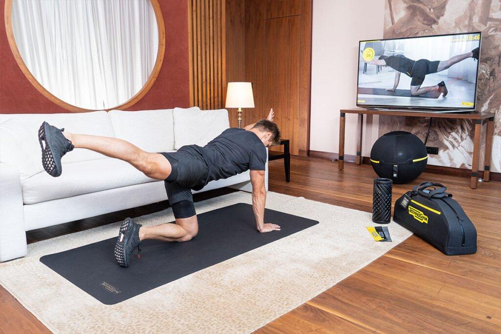 fit room technogym case Нова категория стаи в хотели Kempinski предлага комбинация от фитнес и почивка