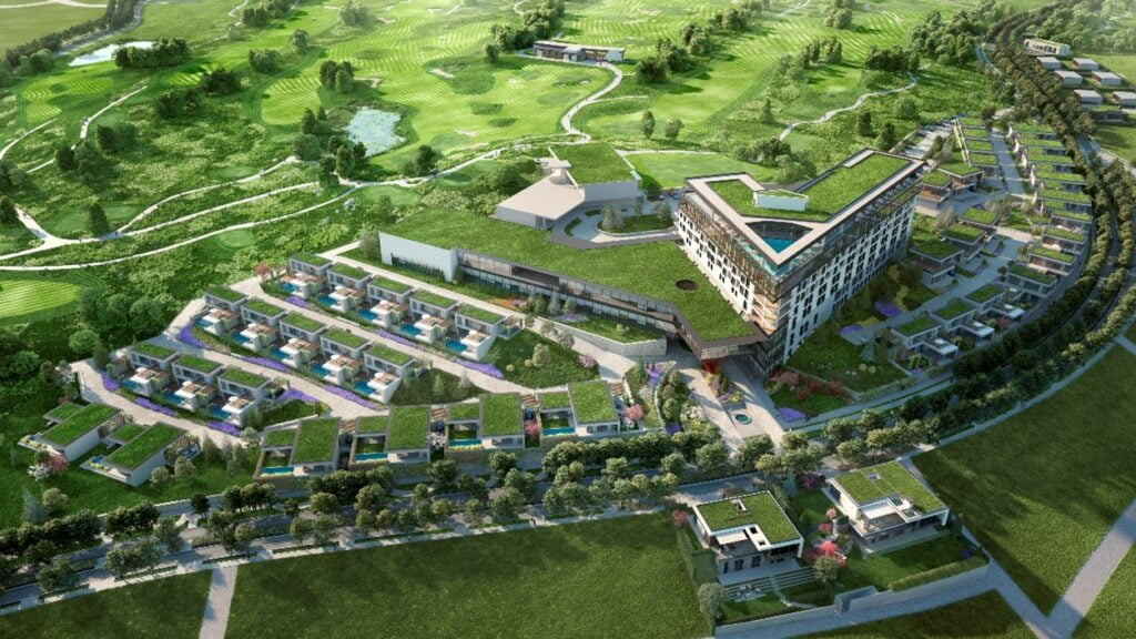okol lake park 1 Първият в България хотел от луксозния бранд на Accor Pullman отваря врати през 2023 година