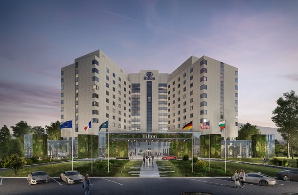 Емблематичният Hilton Sofia стартира мащабен проект за цялостна реновация